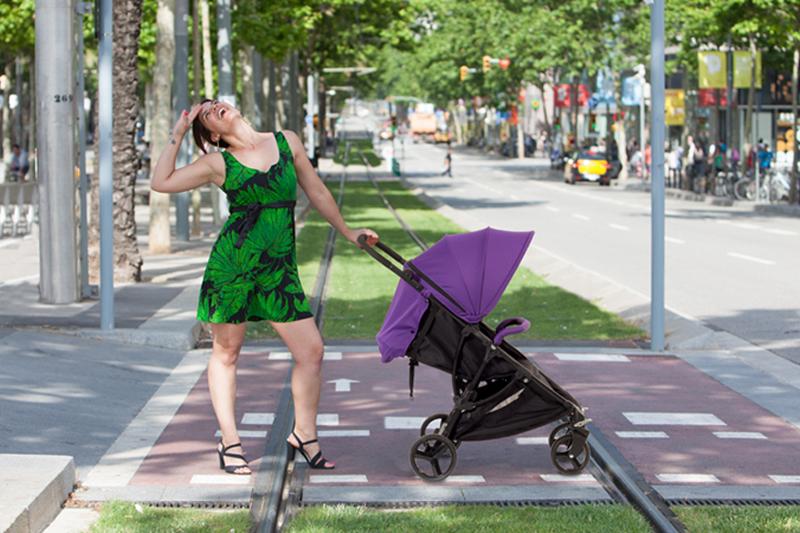 carrito de bebé compacto
