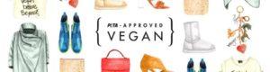 Logo PETA Approved Vegan moda vegana
