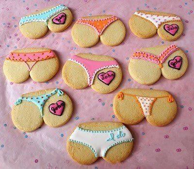 lencería erótica galletas