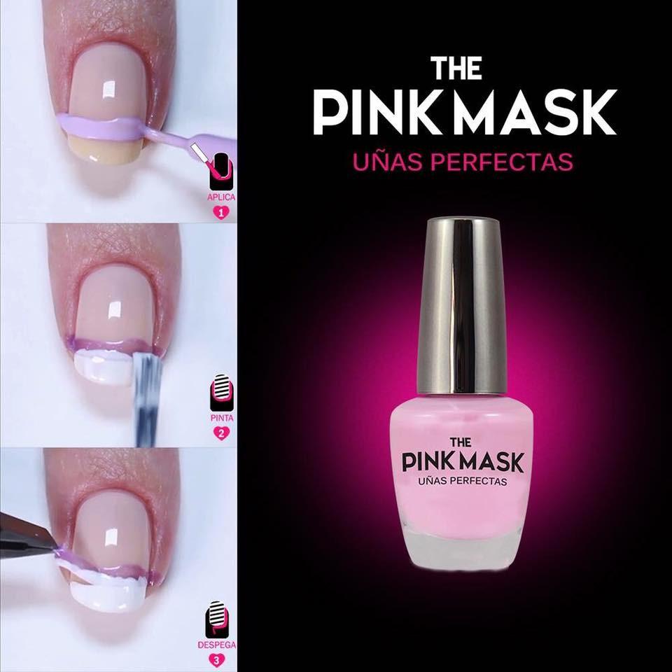 Uñas perfectas con Pink Mask