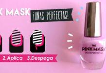Pink Mask uñas perfectas