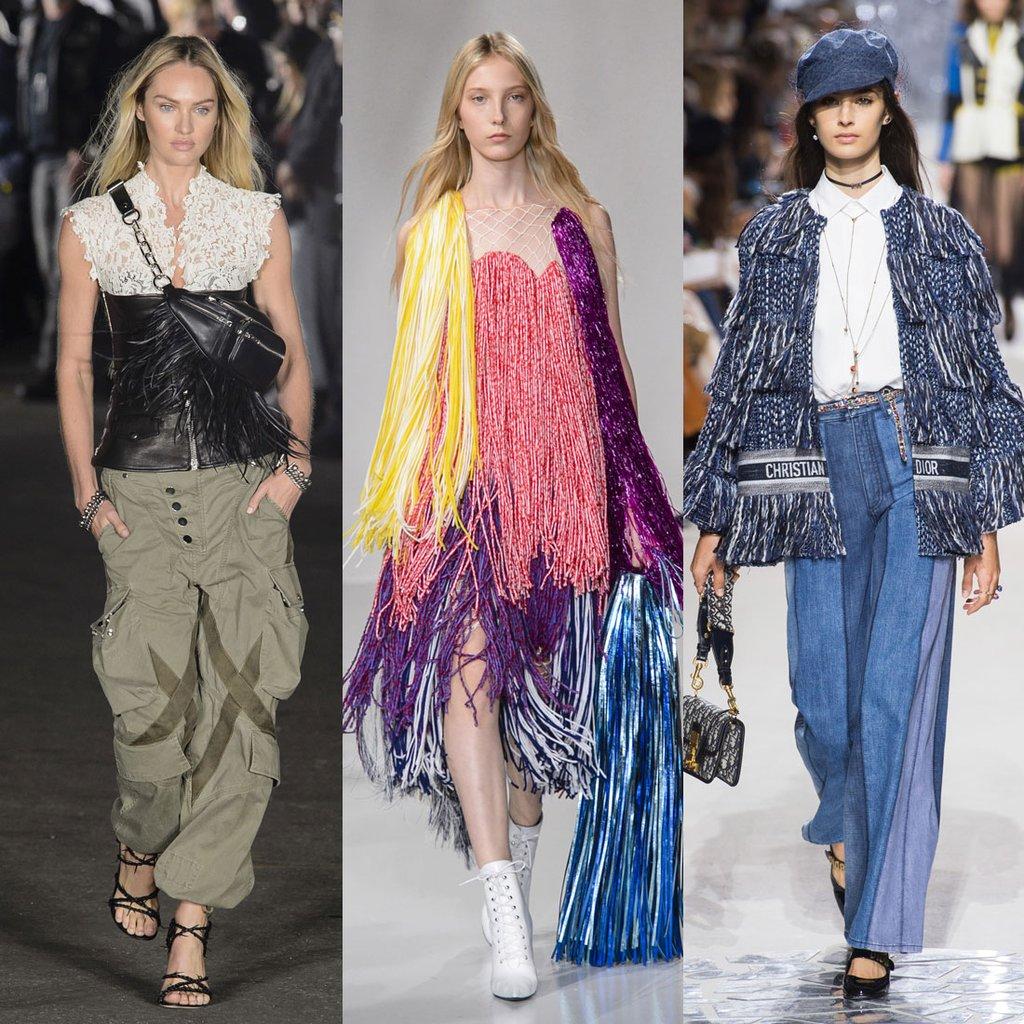 Wang, Calvin Klein y Dior