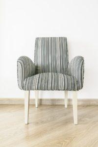 cómo tapizar sillón con tela