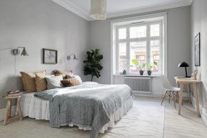 habitacion gris